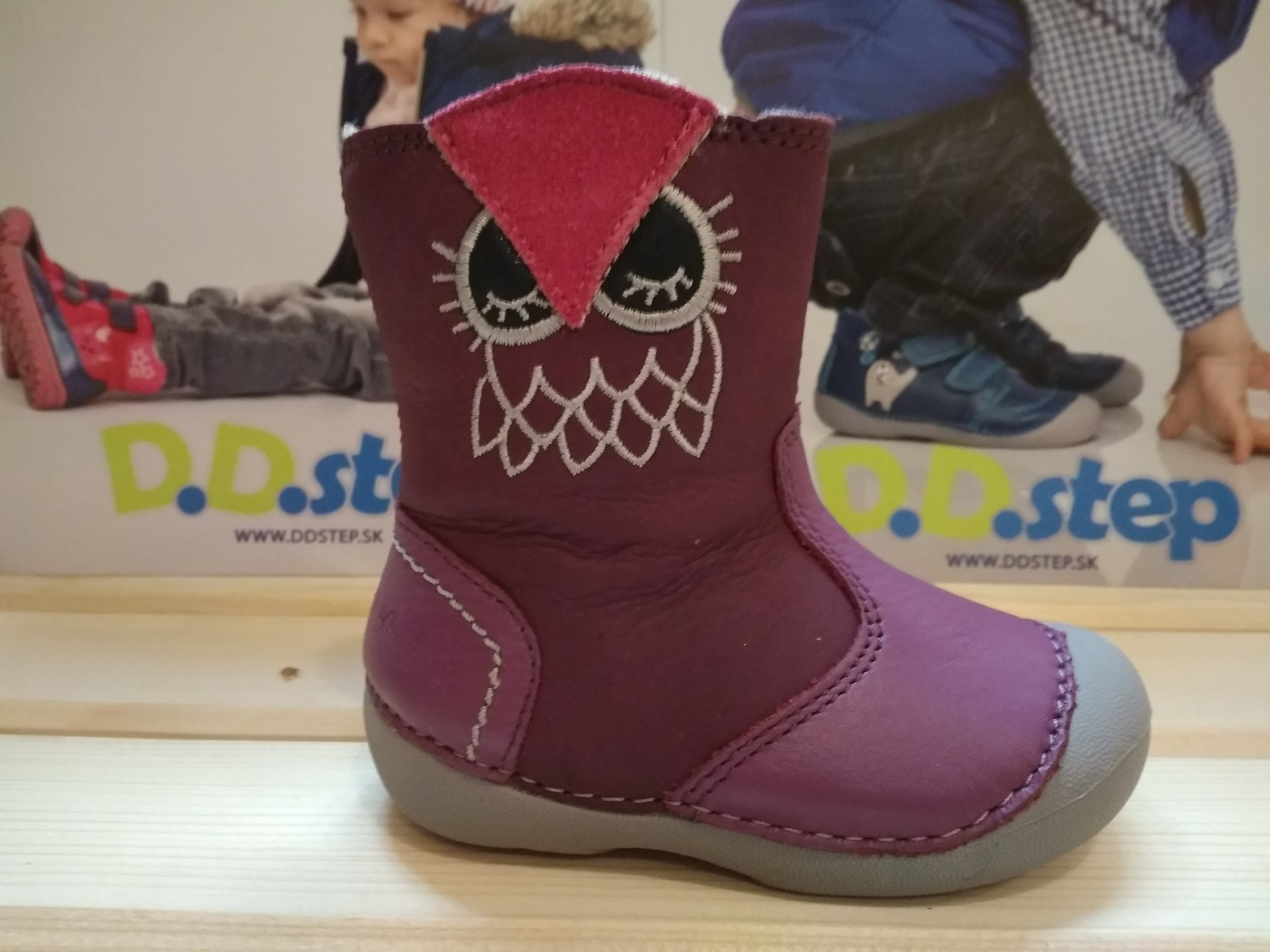 1a7ae7b7cbb Zimná kožená obuv D.D.step 015-157B